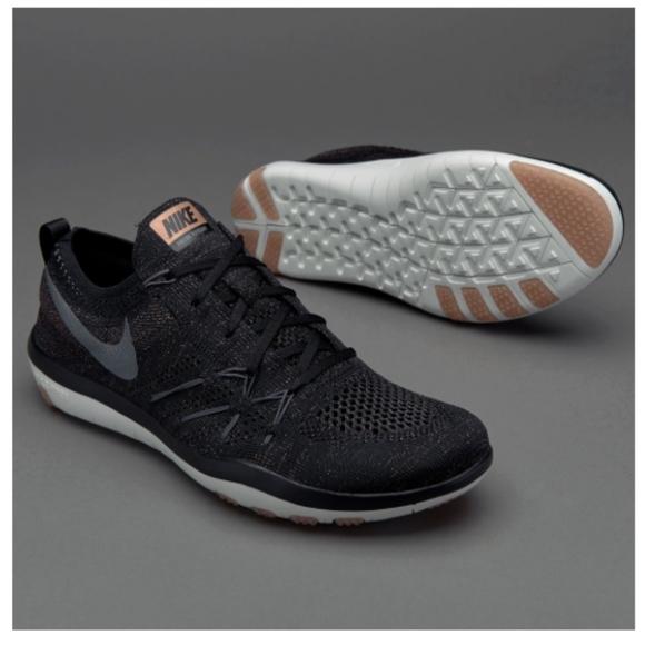89aae5facb73 Nike Free Focus Flyknit Training Shoe - Rose Gold